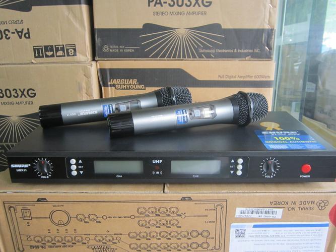 Đắm chìm trong ngọn lửa âm thanh nhiệt huyết với micro không dây Shure UGX11