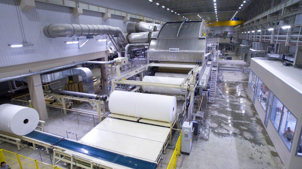 Dự án lắp đặt hệ thống âm thanh nhà xưởng sản xuất giấy