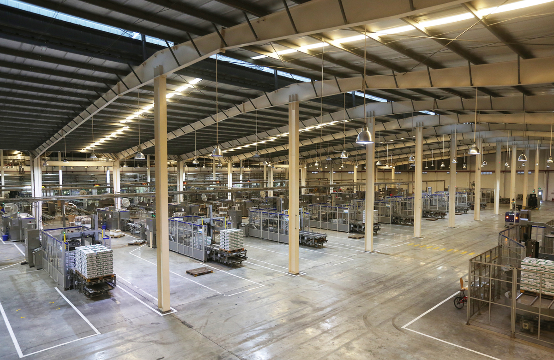 Dự án lắp đặt hệ thống âm thanh nhà xưởng tại nhà máy sản xuất sữa