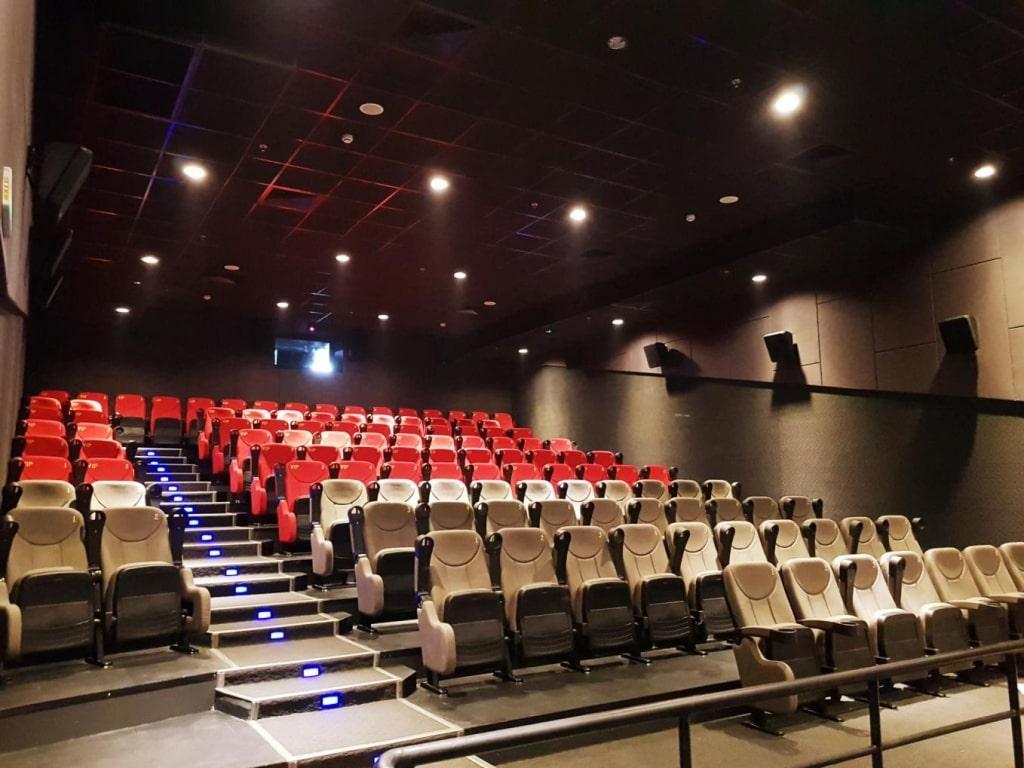 Dự án lắp đặt âm thanh xem phim cho trường quốc tế