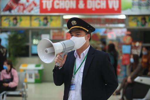 Dự án lắp đặt âm thanh thông báo tại bến xe ở Hoà Bình