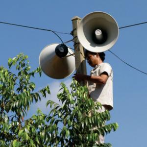 Giải pháp lặt đặt hệ thống truyền thanh không dây cho làng xã 500 người