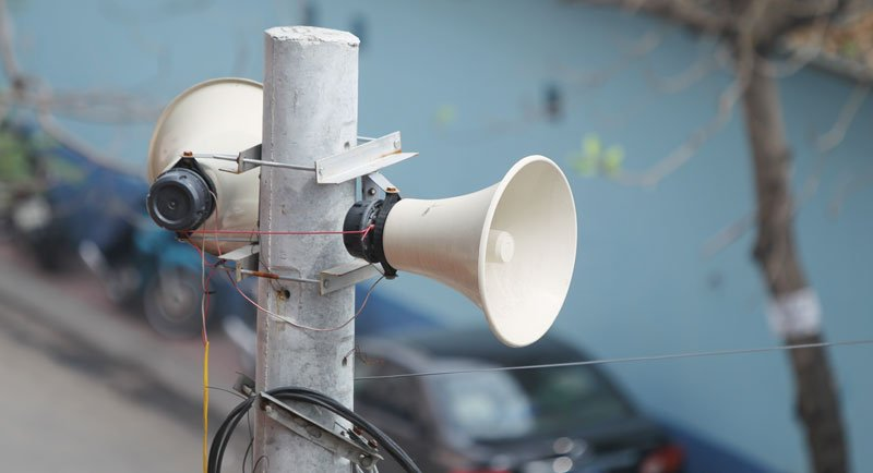 Dự án lắp đặt hệ thống truyền thanh không dây tại phường Nhân Chính