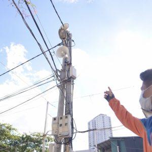 Giải pháp lắp đặt hệ thống truyền thanh không dây cho phường 5km2