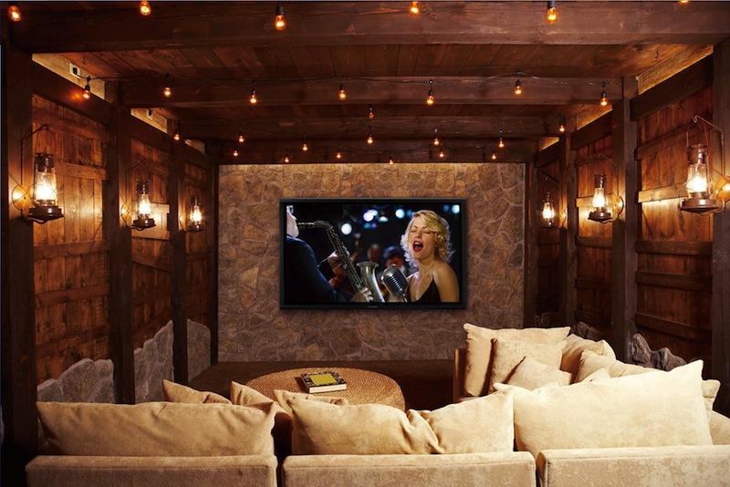 Dự án lắp đặt âm thanh xem phim gia đình tại Golden Land