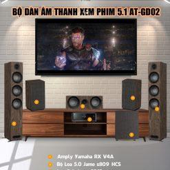 Dàn âm thanh xem phim 5.1 AT-GD02 Vietmoiaudio