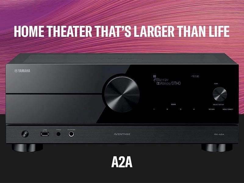 Amply Yamaha RX-A2A
