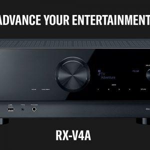 Amply Yamaha RX V4A