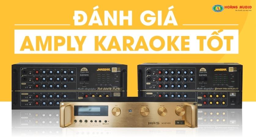 Kiểm tra trước khi mua amply karaoke giá rẻ