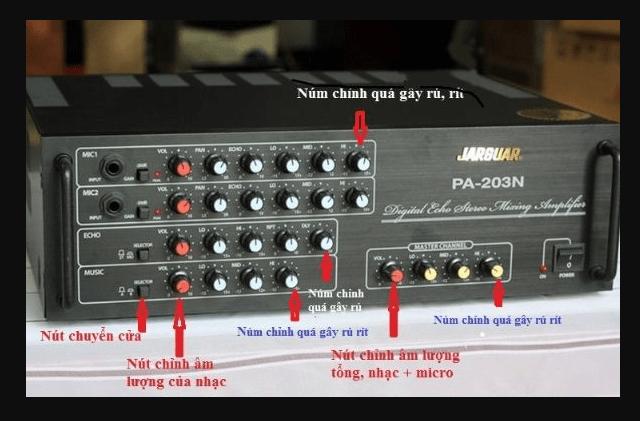 Cách kết nối và điều chỉnh amply karaoke hay nhất