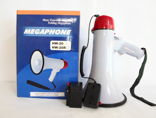 Loa cầm tay mini Megaphone HW-20R