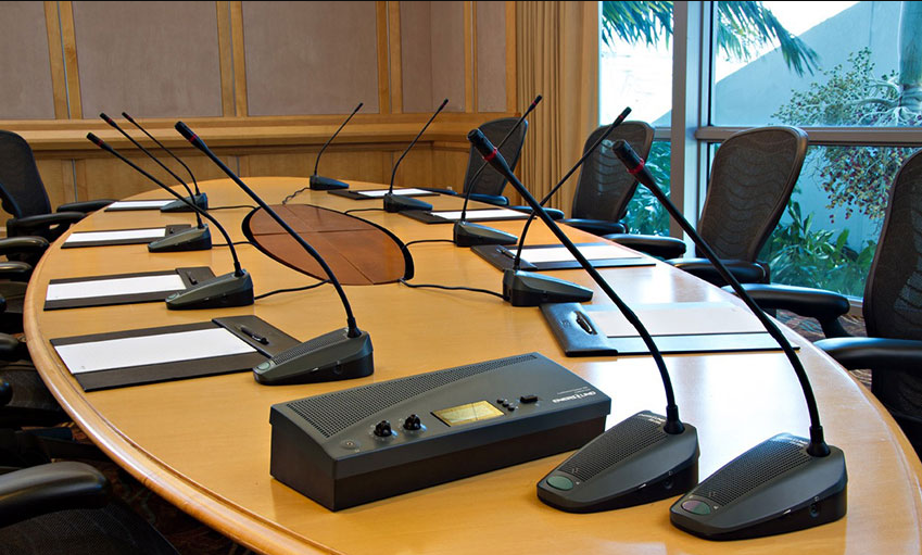 Gợi ý 1 số lựa chọn khi thuê bộ dàn âm thanh hội nghị