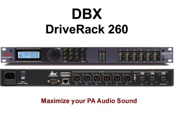 Viet Moi Audio chuyen phan phoi san pham Driverrack DBX PA260 gia tot nhat