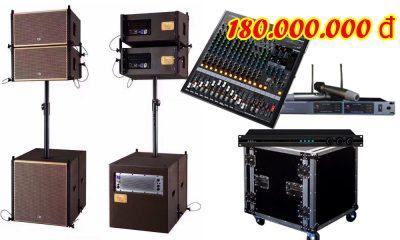 Hệ thống âm thanh đám cưới chất lượng DC VM180