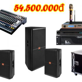 Dàn âm thanh đám cưới giá rẻ DC VM54 tại Việt Mới Audio