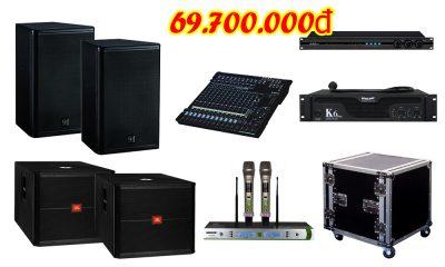 Dàn âm thanh đám cưới hiên đại chất lượng cao DC VM69