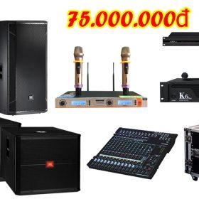 Dàn âm thanh đám cưới chất lượng tầm trung DC VM75 tại Việt Mới Audio