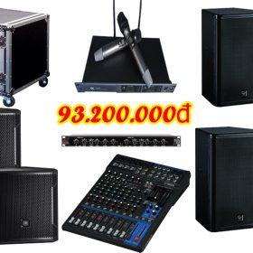 Dàn âm thanh đám cưới chất lượng DC VM93