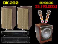 Bộ dàn karaoke DK 232