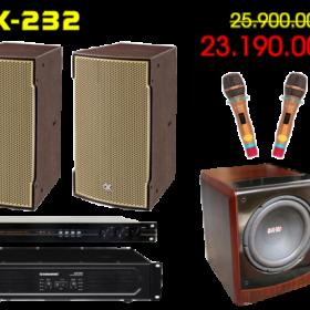 Bộ dàn karaoke gia đình DK-232