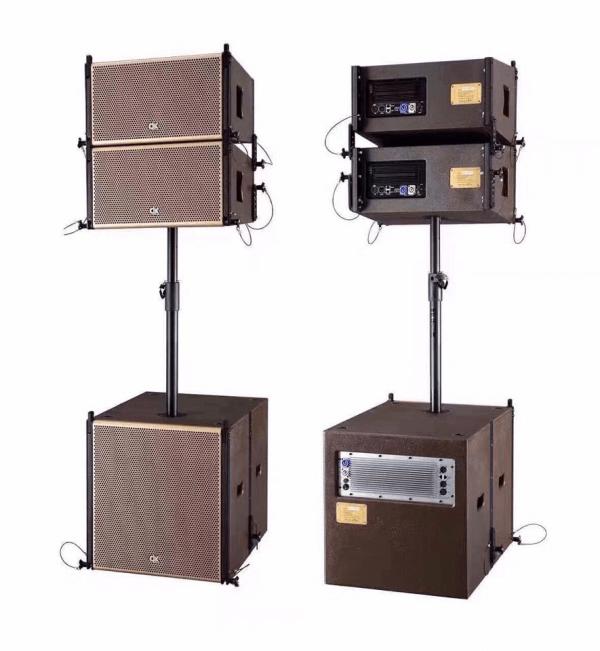 Bộ loa Array DK VM011 sử dụng trong dàn âm thanh đám cưới DC VM180