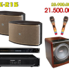 Bộ dàn karaoke gia đình Dk 215