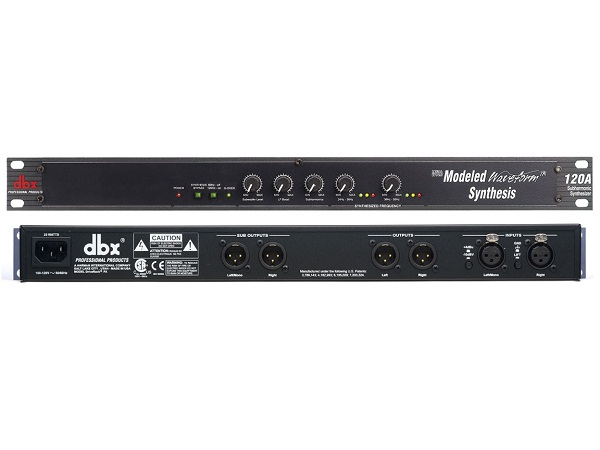 Equalizers DBX 120A