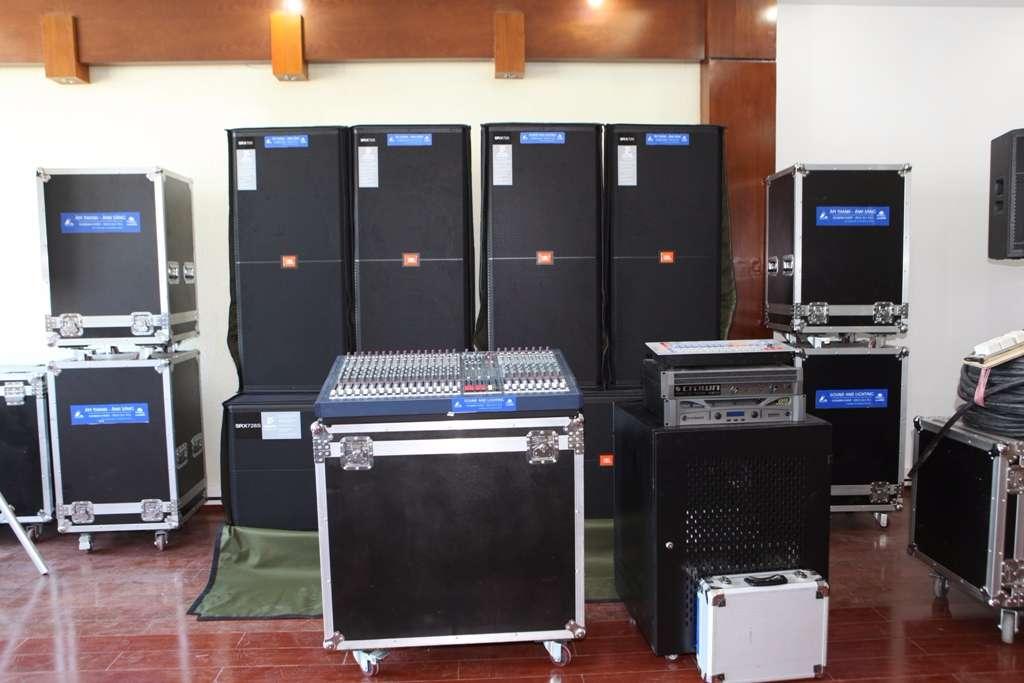 thiết bị âm thanh chất lượng cao
