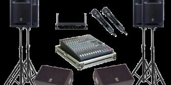 Các thiết bị âm thanh trong dàn âm thanh chuyên nghiệp