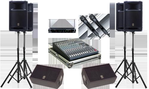 Các thiết bị chất lượng trong một dàn âm thanh hiện đại