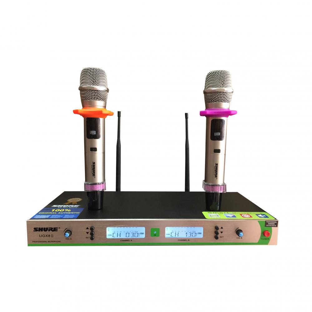 Micro không dây, Micro Shure UGX8 II