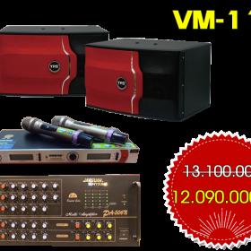 Dàn karaoke gia đình VM-112