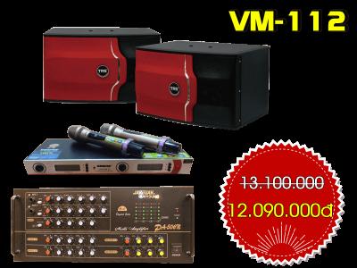 Bộ dàn karaoke gia đình VM-112