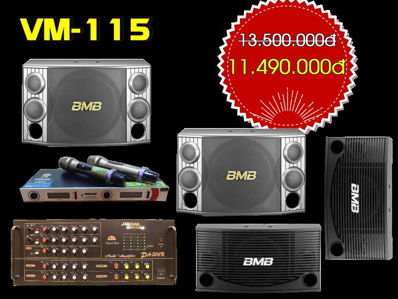 Bộ dàn karaoke gia đình VM-115