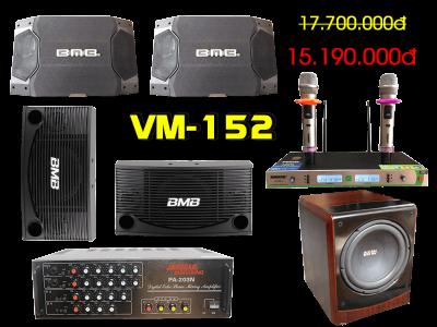 Bộ dàn karaoke gia đình VM-152