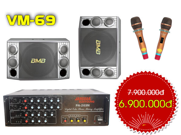 Bộ dàn karaoke VM 69
