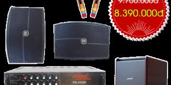 Bộ dàn karaoke VM-84