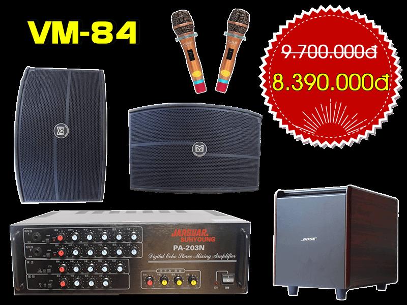 Bộ dàn karaoke gia đình VM-84