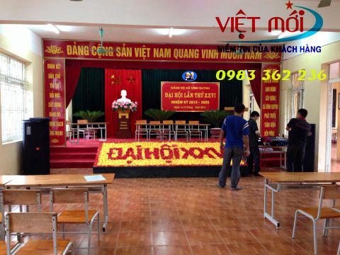 Huong dan mot vai san pham loa hay su dung cho hoi truong nha nuoc