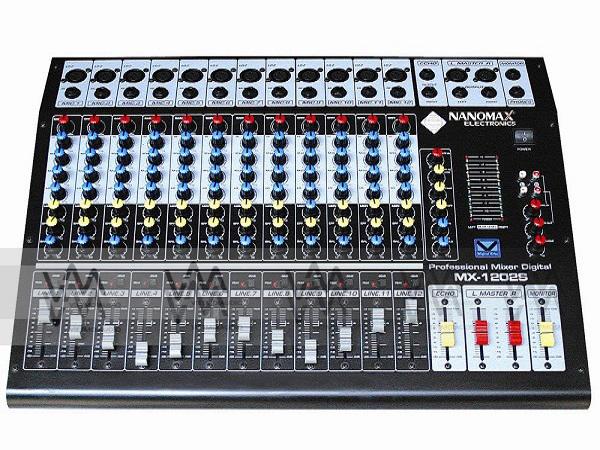 Tìm hiểu các loại bàn mixer chuyên nghiệp trên thị trường