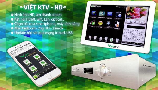 Đầu karaoke Việt KTV