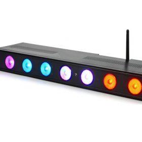 Đèn LED tricolor 8*3W PL-28
