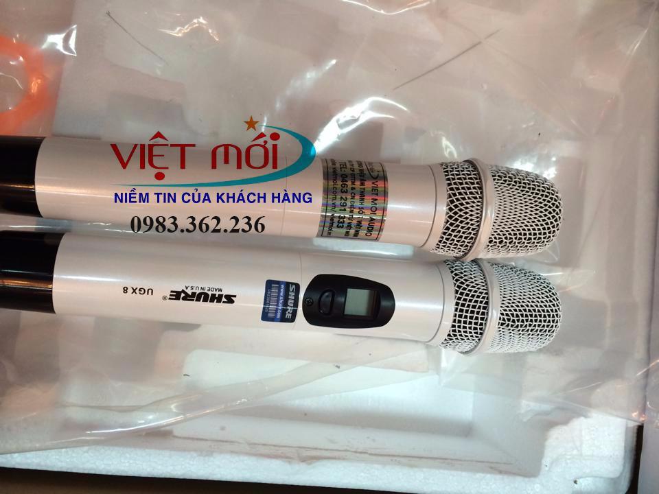 Micro Shure UGX8II, micro Shure UGX9 II sản phẩm micro không dây tốt nhất hiện nay