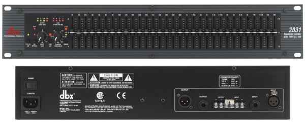 Bộ xử lý tín hiệu Equalizer DBX 2031