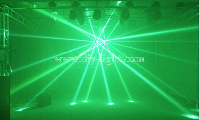 Hình ảnh tạo thành bởi đèn sân khấu MH-5R 5R