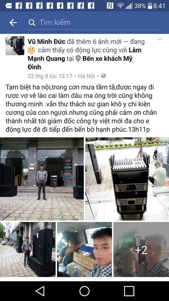 Khách hàng luôn yêu mến Việt Mới AUdio
