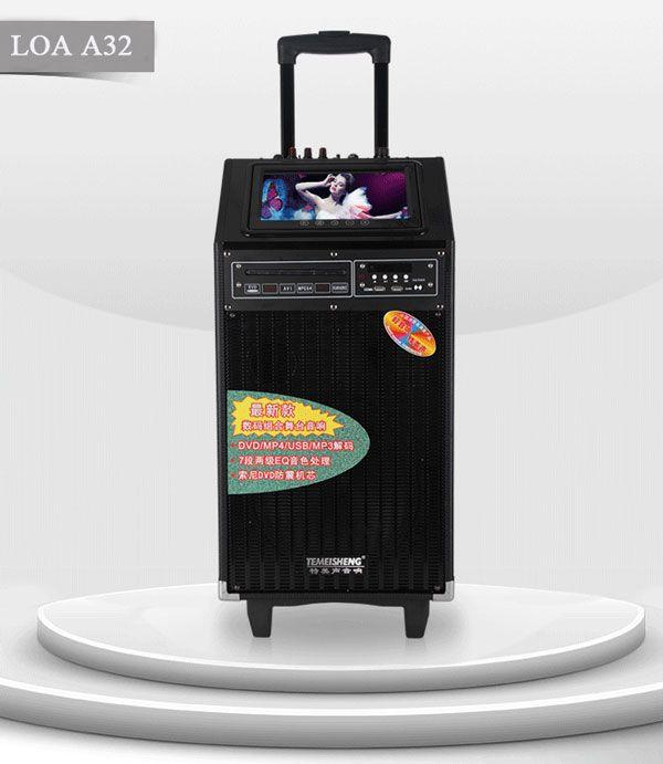 Loa karaoke di động có màn hình A32S