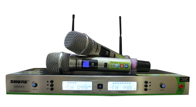Micro không dây trong các dàn âm thanh chuyên nghiệp