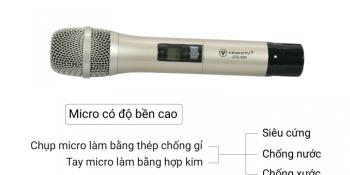 Micro karaoke gia đình hát hay