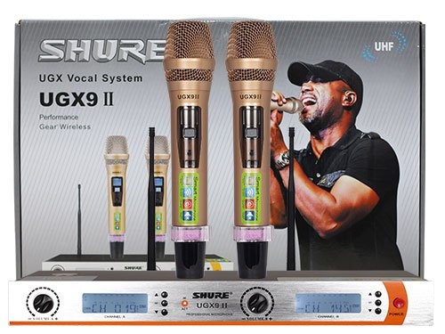 Micro Shure UGX9 II cao cấp